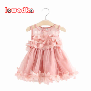 Baby Dresses for Girl Summer Christening Dress for Baby Girl Lace Vestido Infantil 1 Year Dresses Party and Wedding White Dress(China)