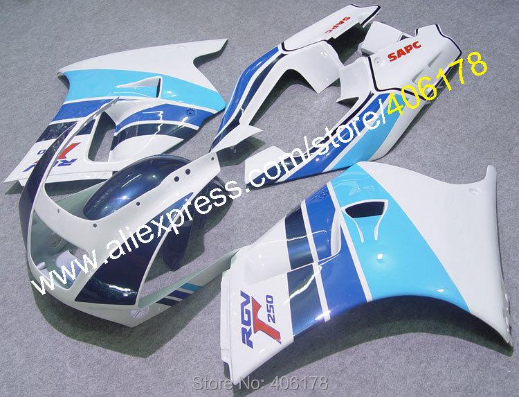 Hot Sales,For SUZUKI RGV 250 vj 22 1990-1994 90 91 92 93 94 RGV250 VJ22 RGV 250 Multicolor ABS Motorcycyle Fairing set стоимость