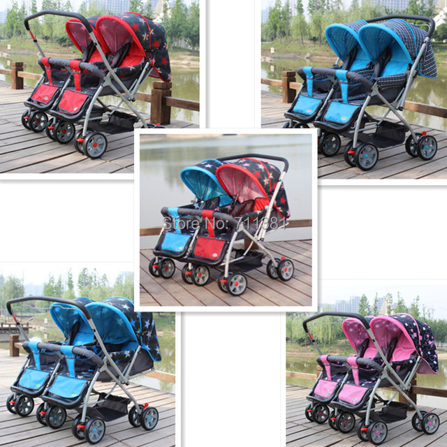 aeac64178 Very Cool Baby Car Twins Stroller 5 Colors Twin Baby Prams On Sale ...