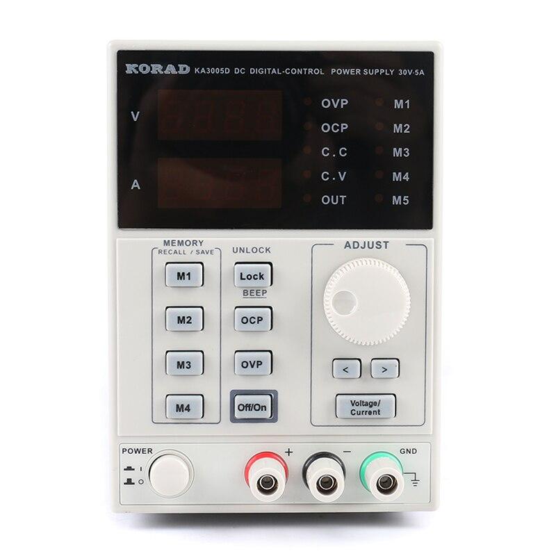 PHONEFIX 5A 30 V professionnel KORAD KA3005D DC laboratoire d'alimentation avec 4 écrans LED numérique pour magasin de réparation de téléphone
