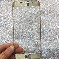 Первоначально Новая Для Samsung Galaxy S6 Edge G925 G925F Внешний Фронт Экрана Стеклянный Объектив Repalcement Черный Сапфир/Белый/Зеленый/Золото