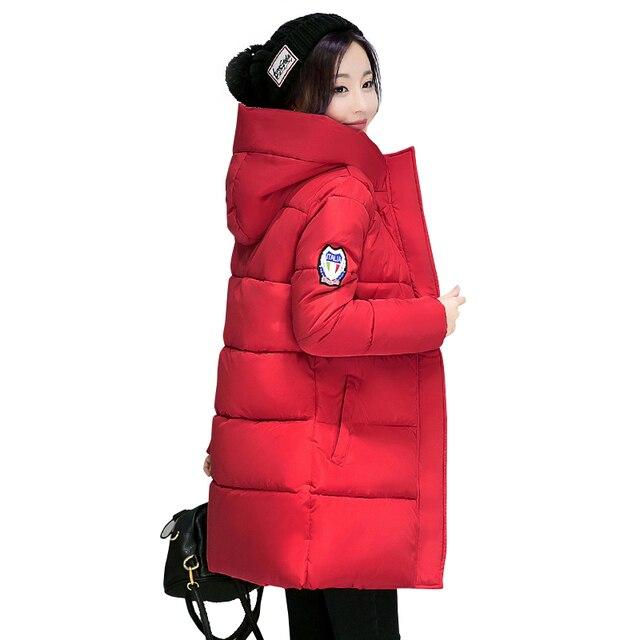 2018 г. Лидер продаж женские зимние куртка с капюшоном; верхняя одежда из хлопка Большие размеры 3XL теплая куртка утепленная jaqueta feminina женские Camperas