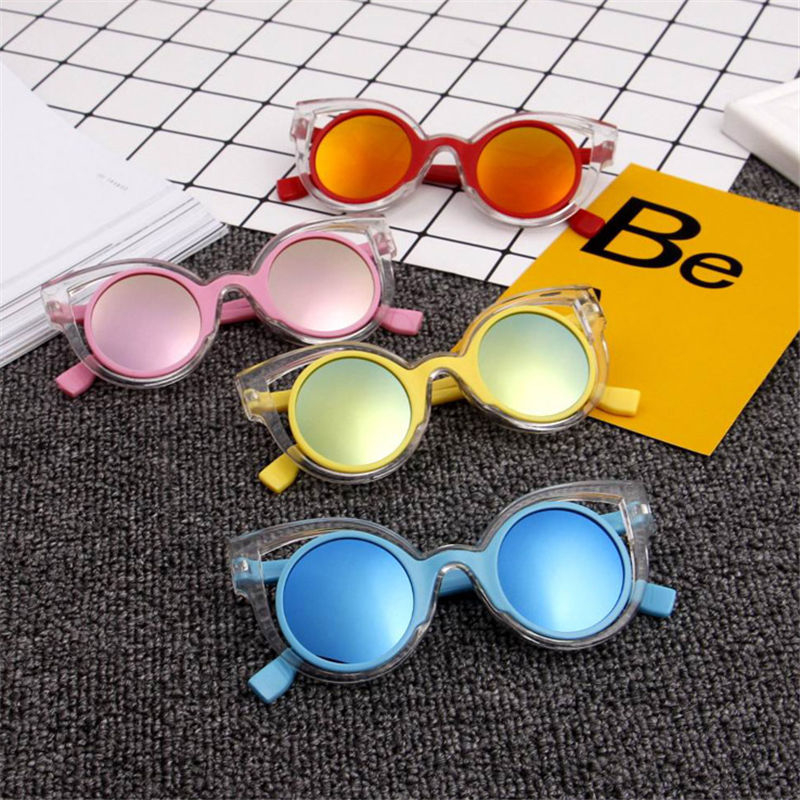 ALIKIAI 2018 Children's Eyewear Girls Sunglasses Summer UV400 Plastic Sun Glasses
