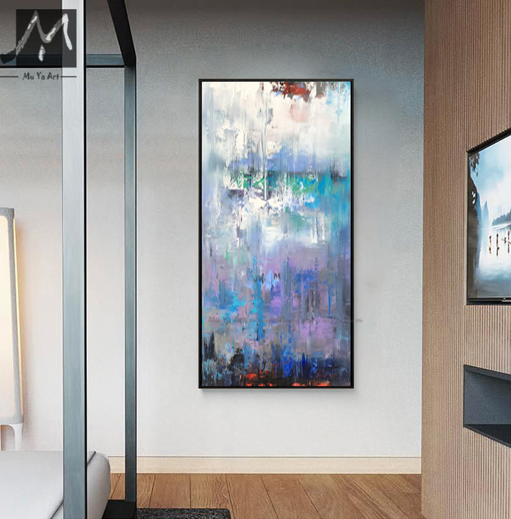 Acrylic painting landscape modern paintings for living room wall ...