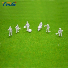 1 87 HO Scale Workmen 50Pcs Train Workers Figures Unpainted Little People Model Building Layout Toy