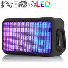 LED portable Bluetooth speaker Lantern Outdoor bicycle bicycle card subwoofer waterproof