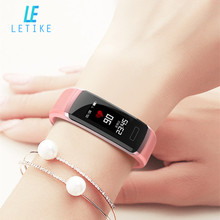 Letike Fitness Tracker GT10 Heart Rate Monitor smart bracelet deep sleep tracker with stopwatch Sport watch  for iOS Android