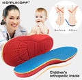 KOTLIKOFF Kids Children Orthopedic Insoles Shoes Flat Foot Arch Support insoles Orthotic Pads Correction Health shoes pad care
