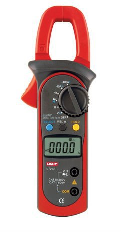 UNI-T UT203  Digital Clamp Multimeter Ohm DMM DC AC Current Voltmeter 400A  цены