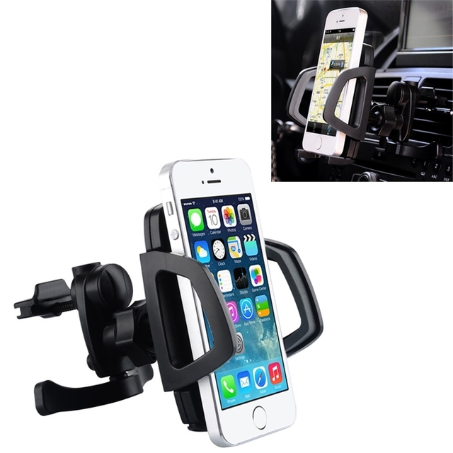 Baseus Wind Series Universal 360 Degree Rotation Car Air Vent Mount Holder for iPhone / Samsung / Sony