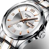 2018 New Binger Men Watches Luxury Brand Japan Miyota Automatic Mechanical Movement Wrist Sapphire Waterproof Watch Men B 8051 3
