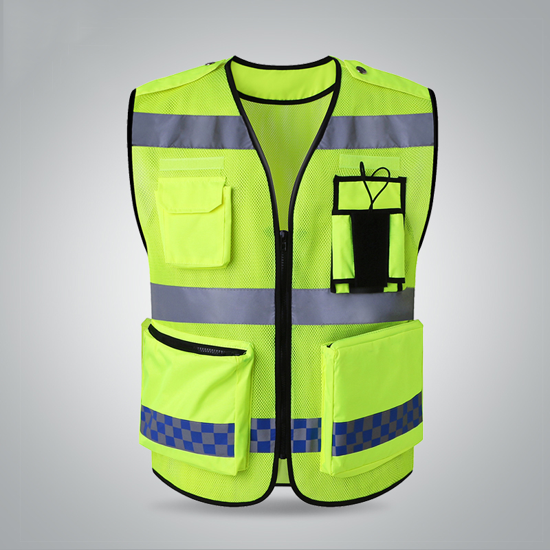 Dynamic Spardwear High Visibility Security Vest Safety Vest Mesh Fabric Reflective Safety Mesh Vest Road Safety Free Shipping Safety Clothing Security & Protection