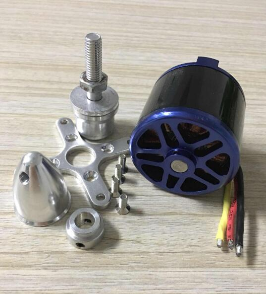 EMP C5055 700KV 1450W 3-8S 80A heavy big Brushless Motor 5055 for 14~17 props