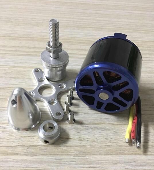 EMP C5055 700KV 1450 W 3-8 S 80A gros moteur Brushless 5055 pour accessoires 14