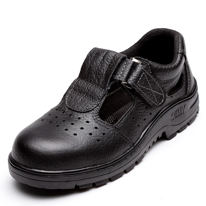 men black plus size steel toe cap work safety summer shoes soft leather sandals plate platform tooling boots protection zapatos baby moccasins the coral pear classic moccasin genuine leather infant toddler kids