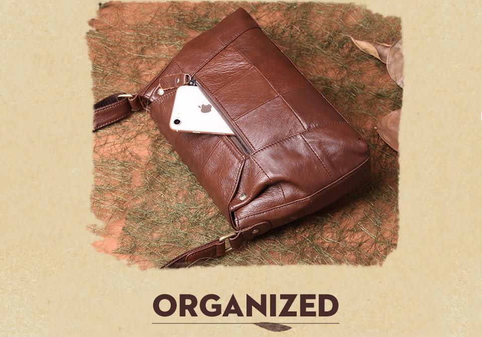 bolsas حقائب الكتف النسائية جلد طبيعي العلامة التجارية 7