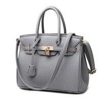 DIMINUTIVE 2018 Promotions 100 Genuine Leather Luxury Handbags Designer Women Bags Female Briefcase Vintage Lock Shoulder