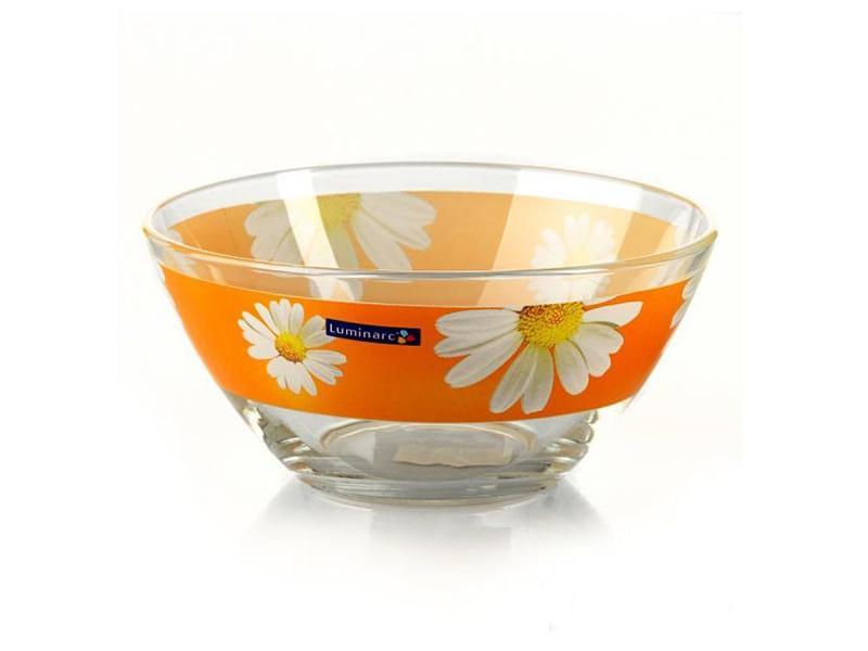 Салатник Luminarc, Carine Paquerette Melon, 17 см, оранжевый салатник luminarc carine black диаметр 27 см
