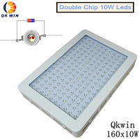 Qkwin 1600W LED Grow Light double chip 370W True Power Full Spectrum for Indoor Greenhouse grow tent plants grow led light