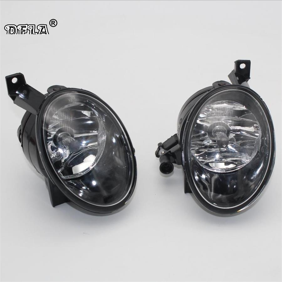 2pcs Car Light For VW Touran MK2 Facelift 2011 2012 2013 2014 2015 Car-Styling Front Fog Lamp Fog Light With Bulb car light car styling for vw polo vento sedan saloon 2011 2012 2013 2014 2015 2016 halogen fog light fog lamp and wire