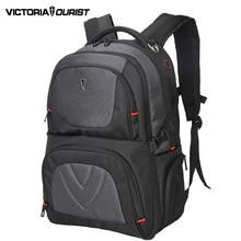 VICTORIATOURIST 17 inch ballistic nylon laptop backpack men large capacity back pack antitheft backpacks V9002 black