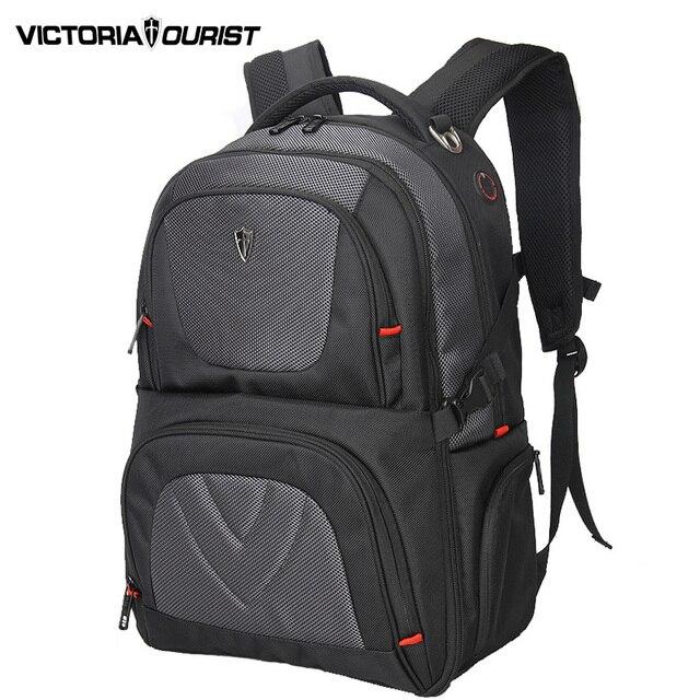 1d92916a2 VICTORIATOURIST 17 polegada nylon balístico laptop mochila homens/grande-capacidade  mochila/mochilas antifurto