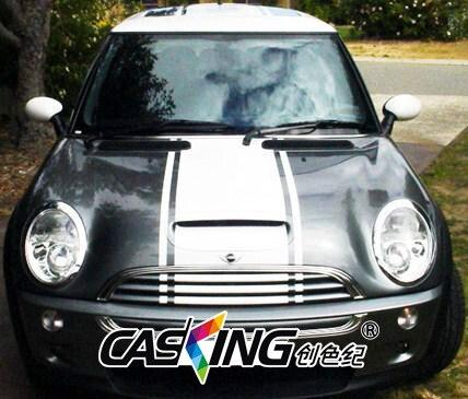 Autocollant de course pour mini cooper R56 f55 f56 | Autocollants latéraux à rayures de course pour la carrosserie de la voiture