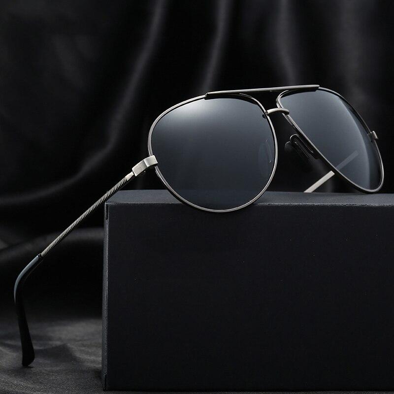 2018 Vintage Retro Aviator Polarized Sunglasses