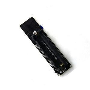 Image 5 - 0.96 cala OLED WiFi Bluetooth ESP32 płytka rozwojowa 18650 obudowa baterii ładującej