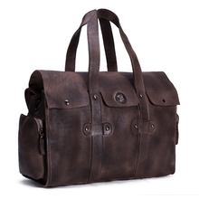 ROCKCOW Large Waterproof Travel Bag for Women Hand 2016 Vintage Mens Leather Travel Duffle Bags Leather Weekend Bag Men 9035
