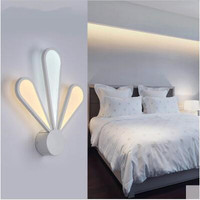 Wall light LED 31W 40W Acrylic Characteristic Minimalist Bedside Lamp Bedroom Metope Of The Sitting Room Wall Lamp 110 240V