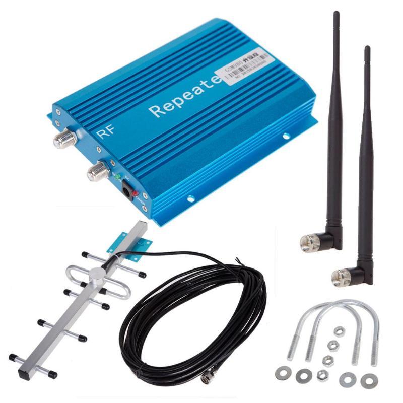 Kit d'antenne Yagi d'amplificateur de répéteur de Signal de téléphone bleu GSM 900MHz