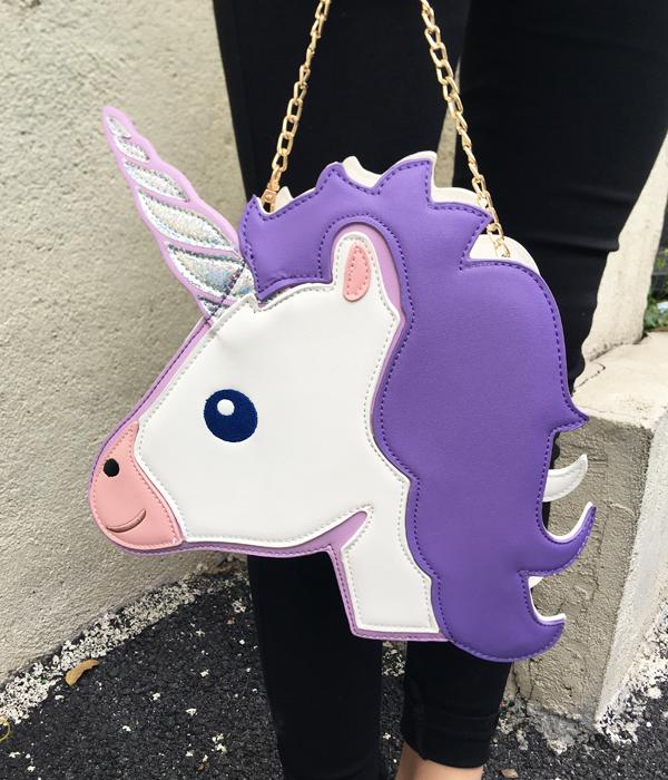 HTB19p1oRXXXXXcAaXXXq6xXFXXX0 - Unicorn Handbag women Shoulder Bag Cute
