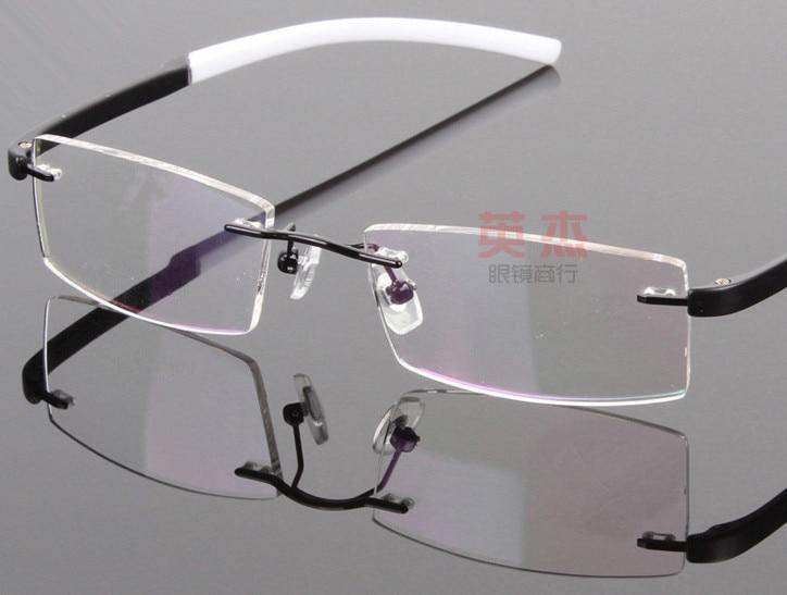 Fashion TR90 Rimless olders men women Reading Glasses 100 125 150 175 200 225 250 275 300