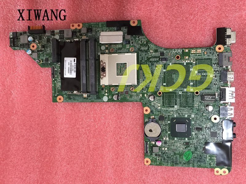 633555-001 Free Shipping for HP Pavilion DV6 DV6-4000 series laptop motherboard HM65 DA0LX3MB8F0 REV:F mainboard 100% tested for hp 6510b series laptop motherboard 446904 001 mainboard free shipping