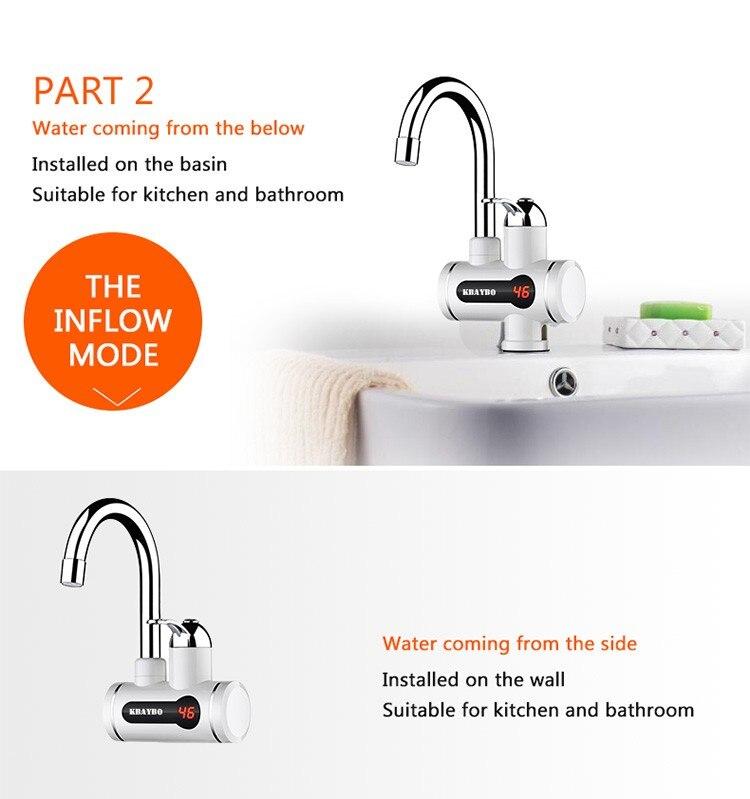Aquecedores de água elétricos
