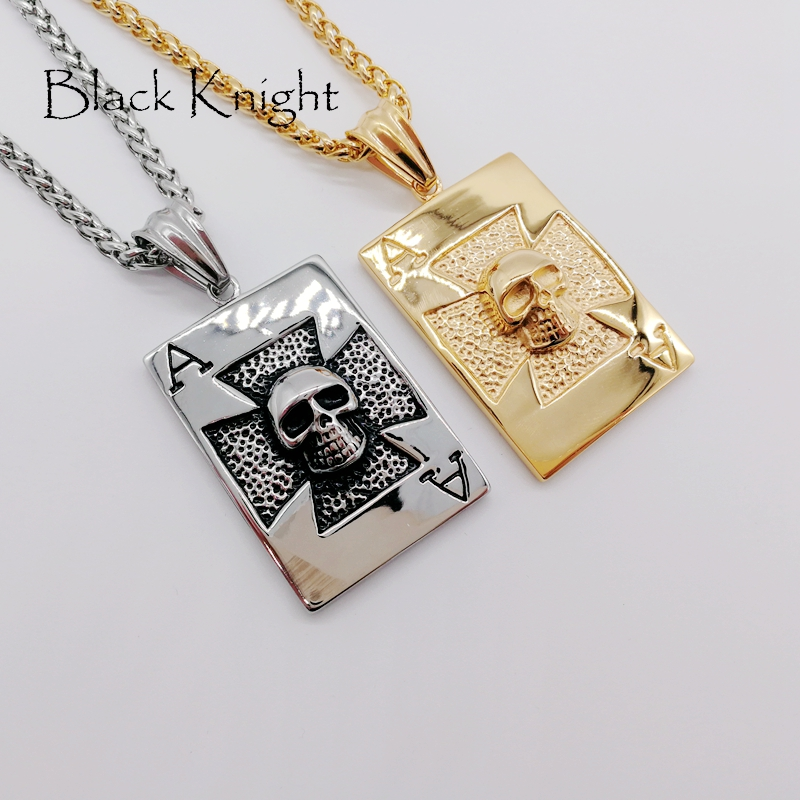 New arrival poker spade ace pendant necklace 316l stainless steel new arrival poker spade ace pendant necklace 316l stainless steel skull poker ace of spade necklace fashion jewelry blkn0630 in pendant necklaces from aloadofball Image collections