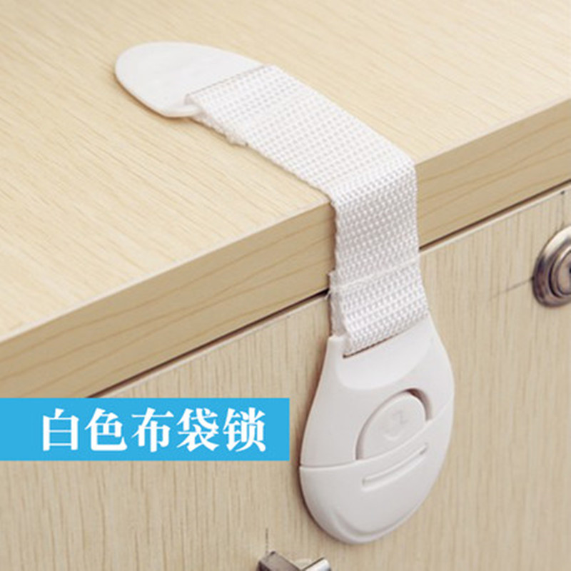 8Pcs/Lot Child Lock Protection Of Children Locking Doors For Children's Safety Kids Plastic Lock Best Selling