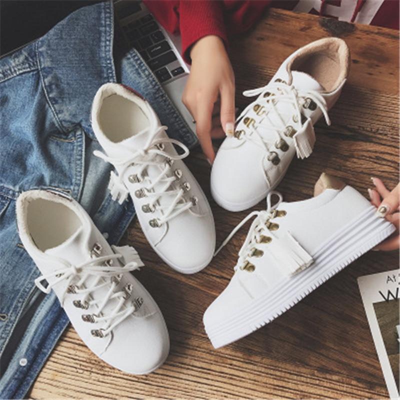 forme Mode Respirant 2 2018 Chaussures Designer Occasionnels 35 Plate Glands Nouveau 40 1 Blanc Marque De wPwEXxag