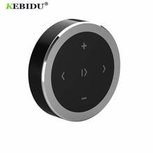Kebidu Draadloze Bluetooth Media Stuurwiel Afstandsbediening Mp3 Muziek Spelen Voor Android Ios Smartphone Controle Auto Kit Styling