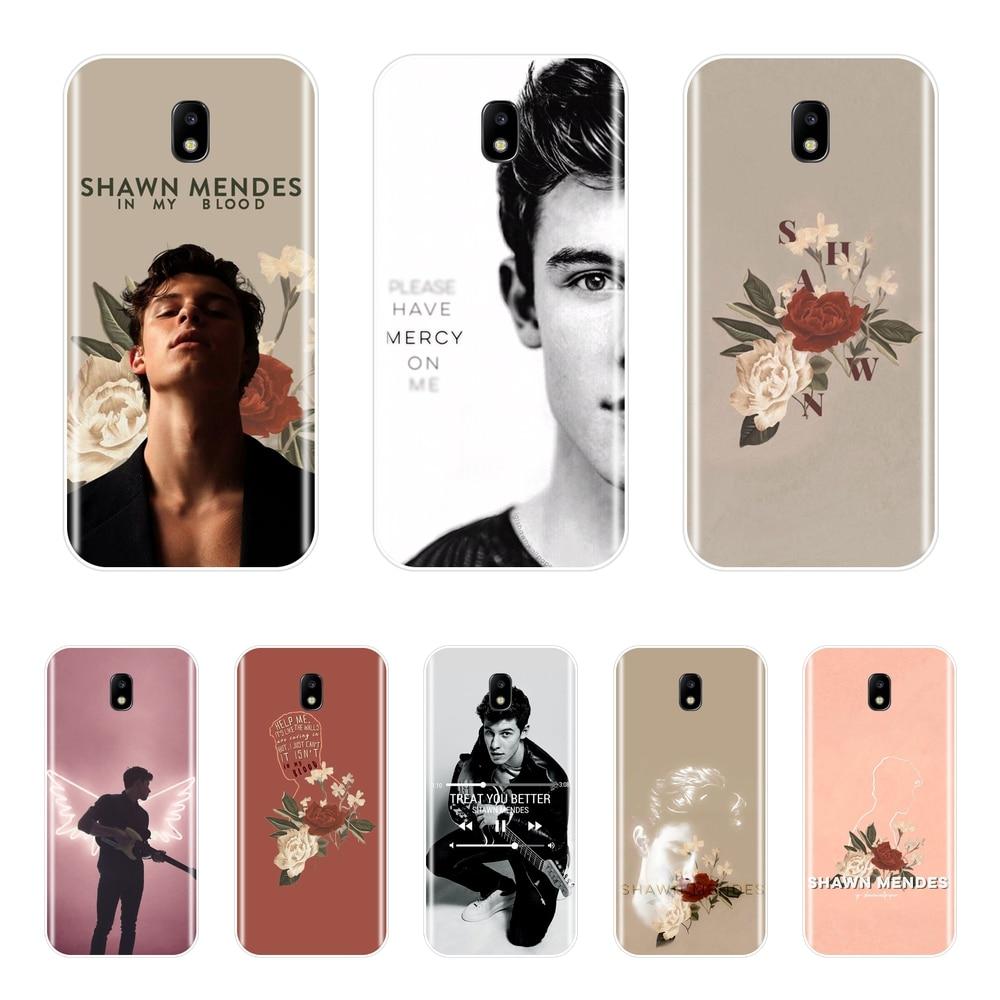 Case For Samsung Galaxy J4 J6 J8 Plus Shawn Mendes Singer Cover For Samsung J2 J5 J7 Prime J3 J5 J7 2015 2016 2017 Phone Cases