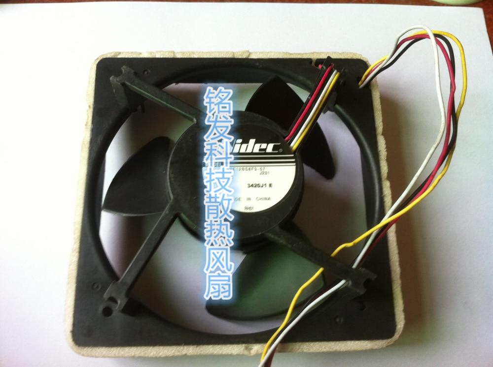 Nidec U12E12BS8F3-57 J232 DC12V 0.06A 125x125x35mm Server Cooler Fan