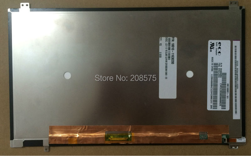 Free shipping! New 11.6 inch Tablet PC TFT LCD Screen HN116WX1-101 WXGA 1366(RGB)*768 with 30 pins free shipping new 14 touch lcd screen b140xtk01 1 b140xtk01 0 b140xtk01 wxga hd replacement touchscreen 1366 768 edp 40pins