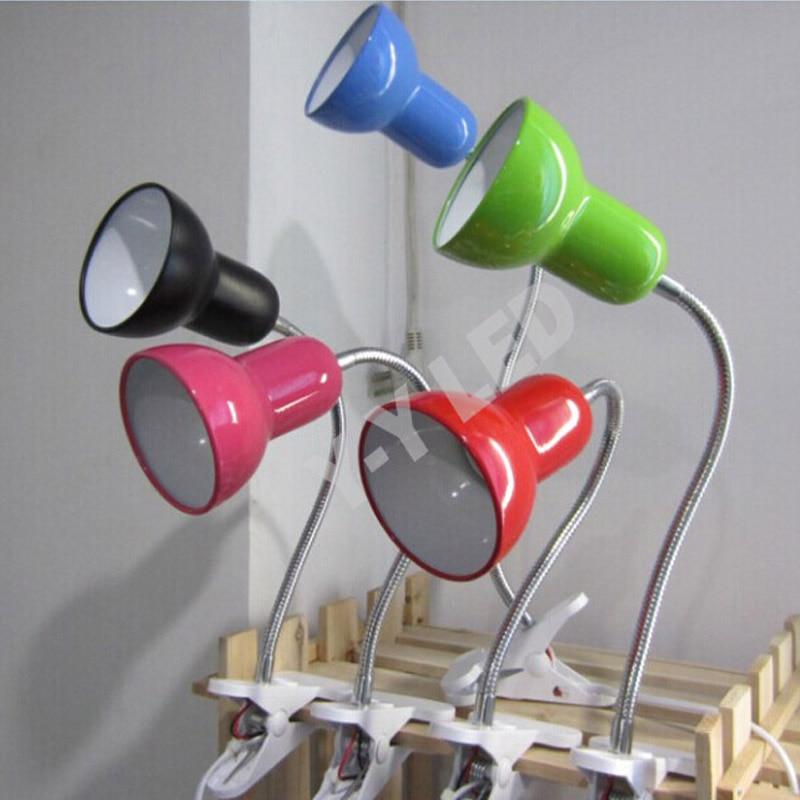 Full Metal Lampshade Reading LED Գրասեղանի լամպ, 360 - Ներքին լուսավորություն - Լուսանկար 4