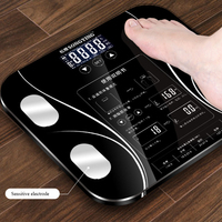 Fat scale LED display body fat weighing electronic weight scale body composition analysis health scale smart bathroom balance