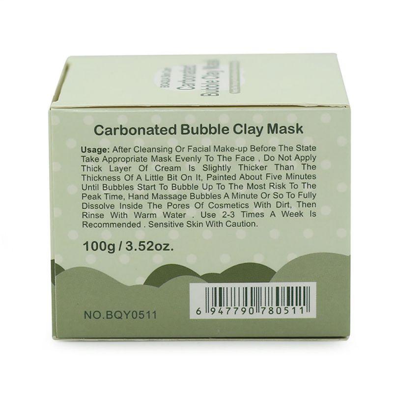 Profunda dos Poros Argila Carbonatadas Bolha Hidratante Anti-acne