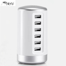 30W Multiport USB Charger With 6 Port Charging Station For iPhone 11 pro max iPad Samsung for Huawei Oneplus