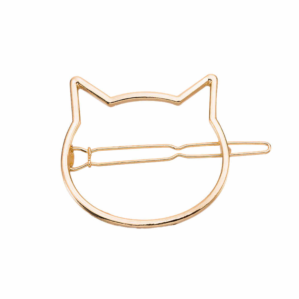 2019 moda elegante lindo gato mujeres gilrs pinzas para el pelo Buckle horquilla tocado bonito accesorios verano collocation A0