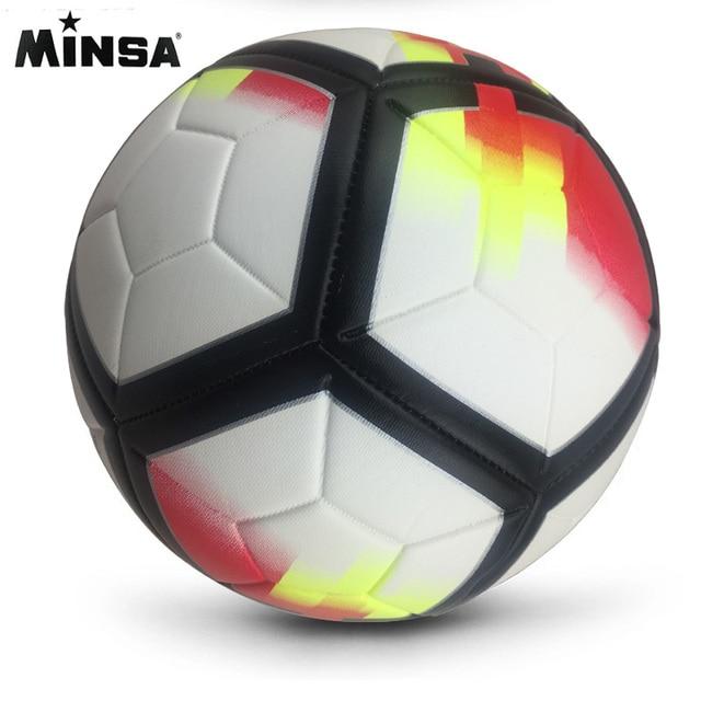 2019 New Brand MINSA High Quality A Standard Soccer Ball PU Soccer Ball Training Balls Football