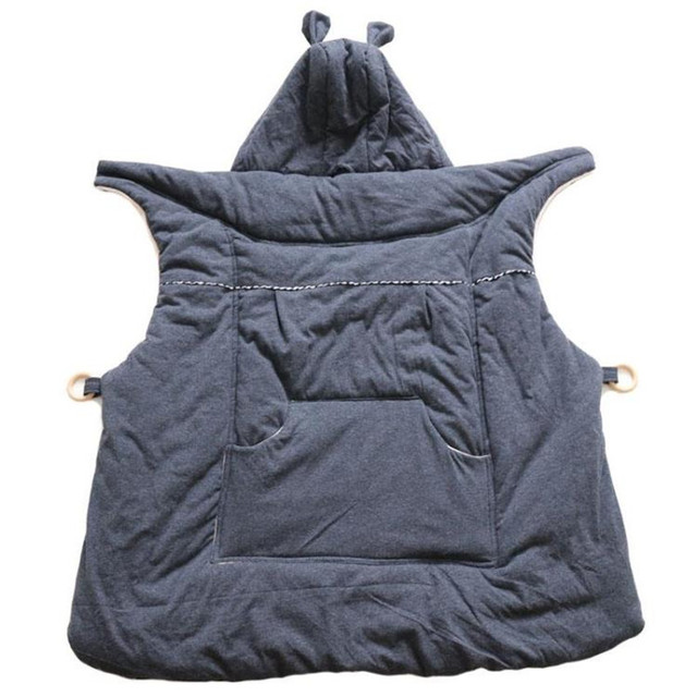 Winter Baby Carrier Pasgeborenen Cap Mantel Winddicht Fluwelen Warme Rugzakken Wrap Baby baby Accessoires Hoodie Rugzak Holding Kid 1